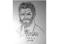 LOGAN /  Wolverine  http://www.pixiv.net/member_illust.php?mode=medium&illust_id=61722139-設計-阿犬犬