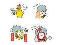 蛋捲與雞毛(競標作品)-巴星